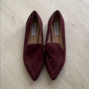 NEW Steve Madden Suede Loafers size 9
